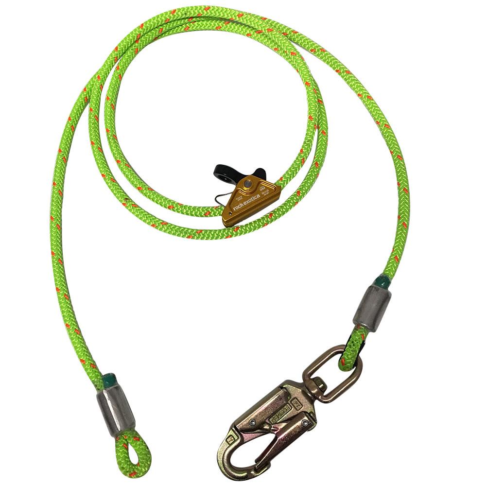 ROPE LOGIC/'S 1//2IN WIRECORE FLIPLINE W// STEEL SNAP 12FT ARBORIST RIGGING